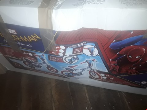 "Lot 1803 SPIDERMAN 14"" BIKE"
