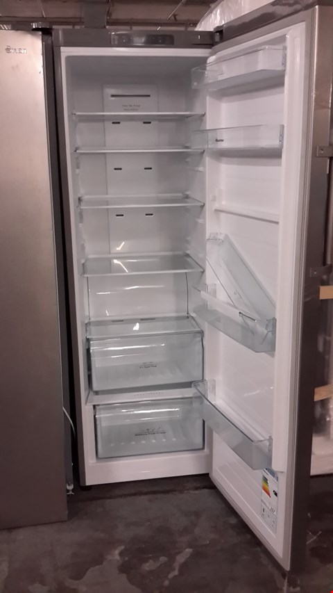 Lot 80 HISENSE SILVER TALL FRIDGE RL423N4AC1