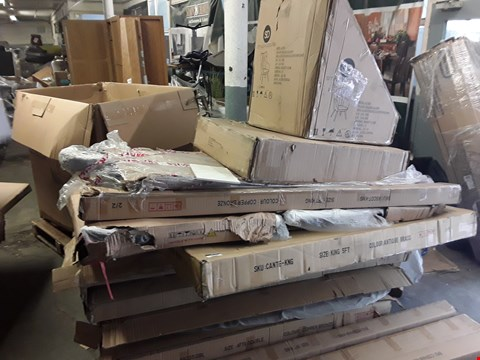 Lot 6068 PALLET OF ASSORTED FLAT PACK FURNITURE ITEMS/PARTS