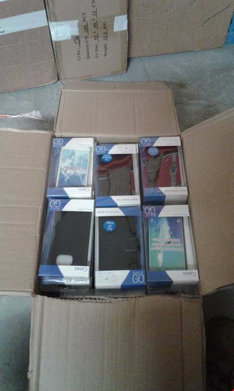 Lot 11510 BOX OF APPROXIMATELY 40 ASSORTED MOBILE PHONE CASES