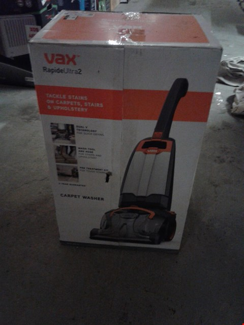 Lot 4641 VAX RAPIDE ULTRA 2 CARPET WASHER