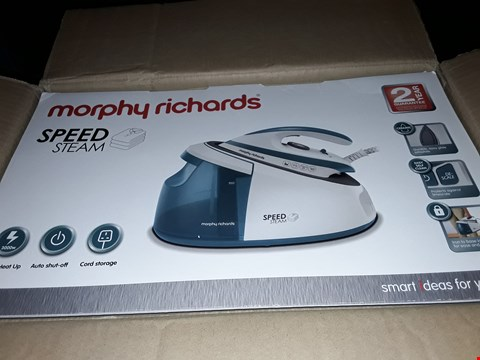 Lot 12485 MORPHY RICHARDS SPEED STEAM IRON
