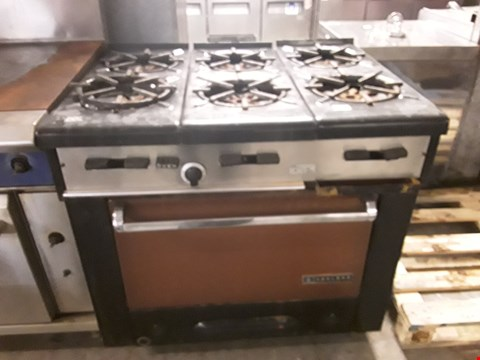 Lot 9047 GARLAND 6 RING GAS COOKER