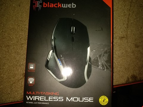 Lot 1129 BLACKWEB MULTI TASKING WIRELESS MOUSE
