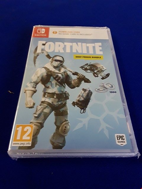 Lot 7606 FOTNITE NINTENDO SWITCH GAME