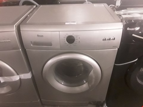 Lot 60 SWAN SW2012S 5KG LOAD 1000 SPIN SILVER WASHING MACHINE RRP £269