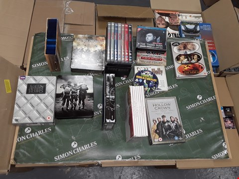 Lot 12049 APPROXIMATELY 24 DVDS BOX SETS AND DVDS & CDS TO INCLUDE,  BUDDY HOLLY , COUNTRY , STAR WARS,  THE PACIFIC
