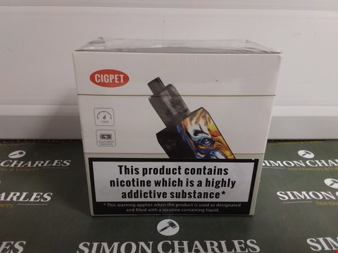 Lot 1035 CIGPET ELECTRONIC CIGARETTE KIT