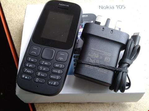 Lot 9366 BOXED NOKIA 105 MOBILE PHONE