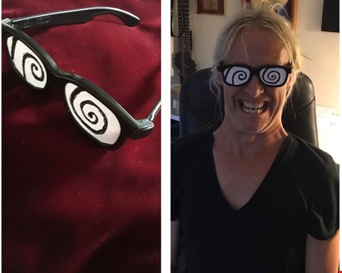 Lot 15 3D SHADES DONATED BY BRITISH MUSICIAN NICK BEGGS OF KAJAGOOGOO