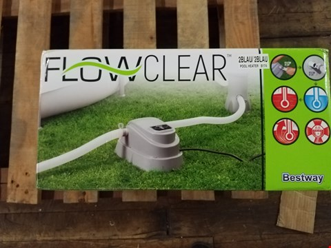 Lot 3395 BESTWAY FLOWCLEAR POOL HEATER RRP £119.99