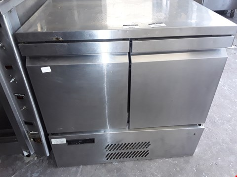 Lot 9016 WILLIAMS DOUBLE DOOR COUNTER FRIDGE