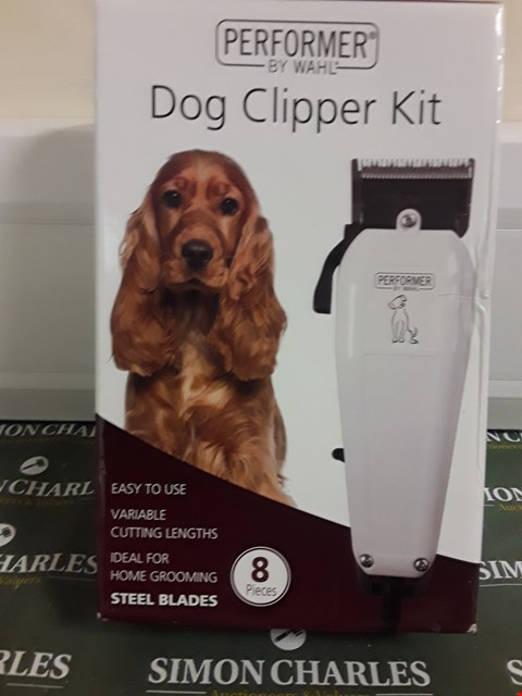 Lot 1595 PERFORMER BY WAHL DOG CLIPPER KIT