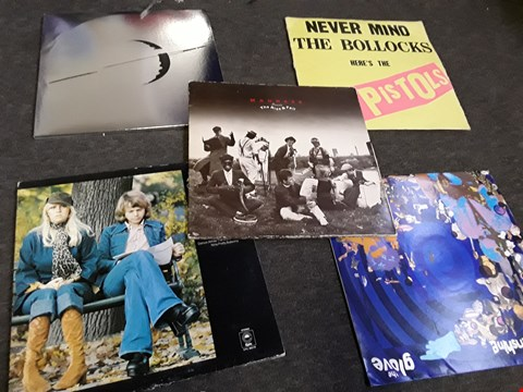 Lot 2504 10 ASSORTED VINYL RECORDS TO INCLUDE; ABBA, SEX PISTOLS, MADNESS ETC