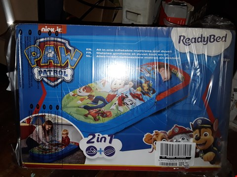 Lot 5076 BOXED PAW PATROL MY FIRST READYBED (1 BOX) RRP £44.99
