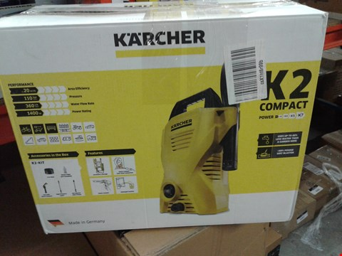 Lot 8357 KARCHER K2 COMPACT PRESSURE WASHER