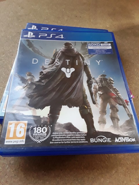 Lot 7667 DESTINY PLAYSTATION 4 GAME