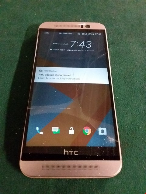 Lot 1080 GOLD HTC MOBILE PHONE - MODEL OPJA100