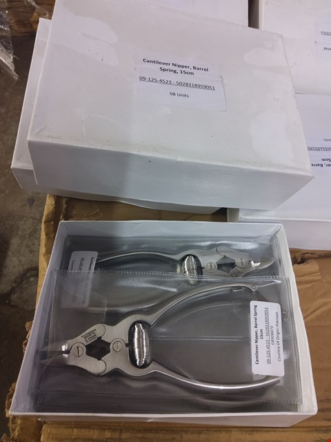 Lot 2017 BOX OF APPROXIMATELY 10 BRAND NEW CANTILEVER NIPPERS