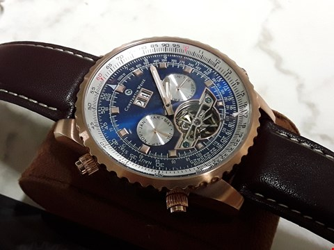 Lot 4575 UNBOXED CONSTANTIN WEISZ GENTS AUTOMATIC WATCH
