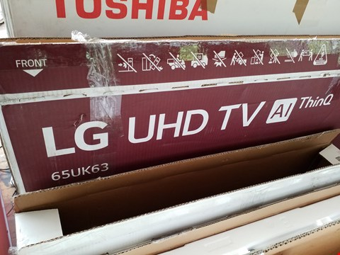 "Lot 1091 LG 65UK6300PLB 65"" UHD 4K HDR SMART LED TV RRP £1600.00"