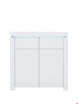 Lot 413 BOXED ATLANTIC WHITE COMPACT SIDEBOARD (1 BOX) RRP £179