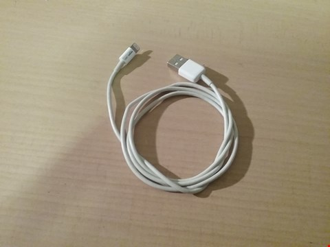 Lot 3125 AMAZONBASICS APPLE CERTIFIED LIGHTNING TO USB CABLE - 0.9 M (3 FT) - WHITE