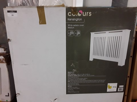 Lot 68 COLOURS KENSINGTON NEDIUM RADIATOR COVER IN WHITE