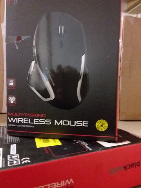 Lot 1465 LOT OF 2 BLACKWEB MULTI-TASKING WIRELESS MICE