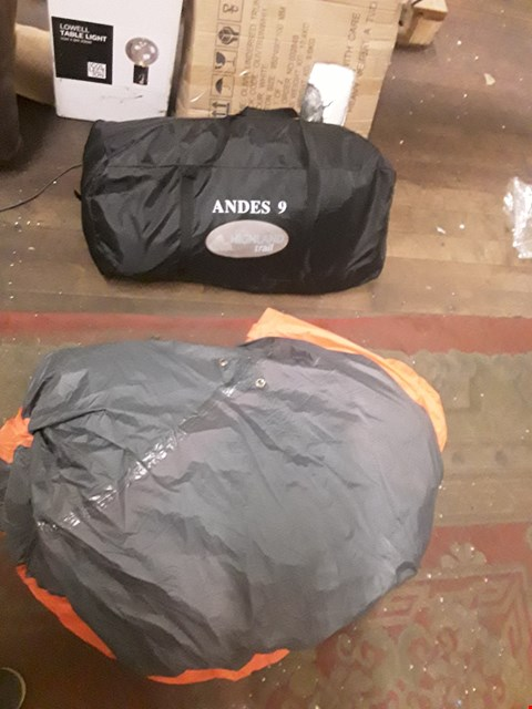 Lot 120 BOXED ANDES 9 MAN TENT