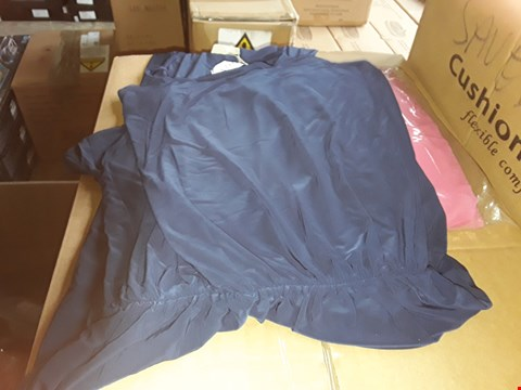 Lot 7396 BOX OF APPROXIMATELY 80 ASSORTED CLOTHING ITEMS TO INCLUDE JUST BE YOU FLUTED SLEEVE JUMPER AND KASARA NAVY DRESS ECT