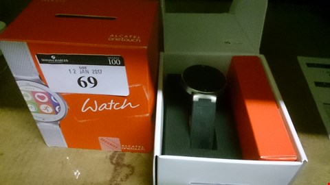Lot 69 BOXED ALCATEL ONE TOUCH WRIST WATCH