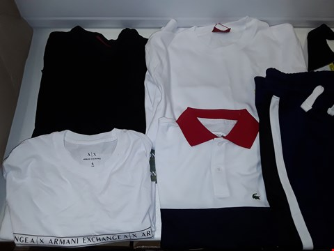 Lot 3328 LARGE BOX OF ASSORTED CLOTHING TO INCLUDE: