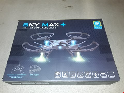 Lot 616 SKY MAX+ HIGH PERFORMANCE RC DRONE