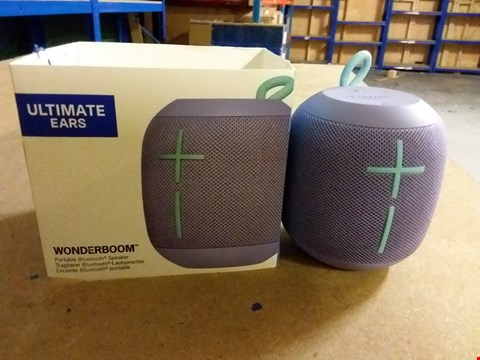 Lot 960 UE WONDERBROOM PORTABLE WIRELESS BLUETOOTH SPEAKER