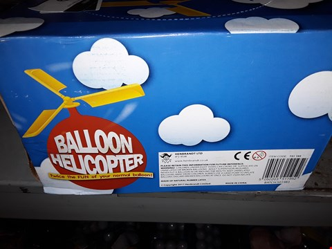 Lot 559 BOX FO BALLOON HELICOPTER