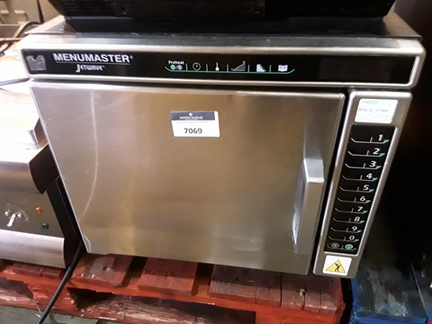Lot 7069 MENUMASTER JETWAVE HIGH SPEED COMBINATION MICROWAVE/OVEN