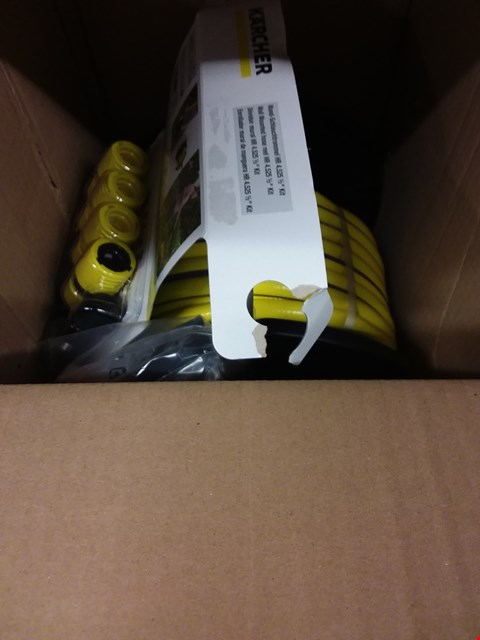 Lot 6940 BOXED GRADE 1 KARCHER WALL MOUNTED HOSE REEL  RRP £63.00