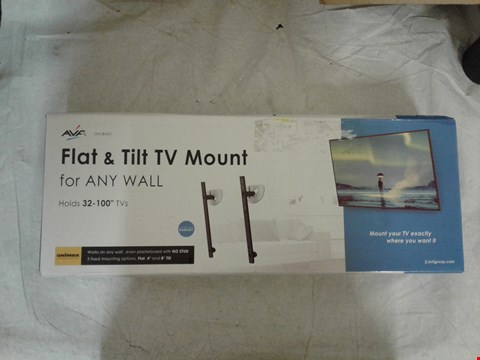 Lot 2063 AVF FLAT SCREEN TV  (FOR ANY WALL) MOUNT