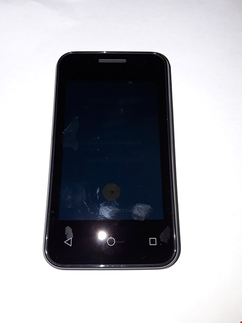 Lot 1058 BOXED VODAFONE SMART FIRST 7 BLACK MOBILE PHONE