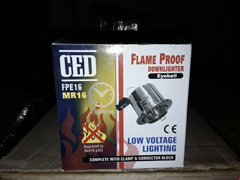 Lot 13243 CED - FPE16/MR16 FLAME PROOF DOWNLIGHTER