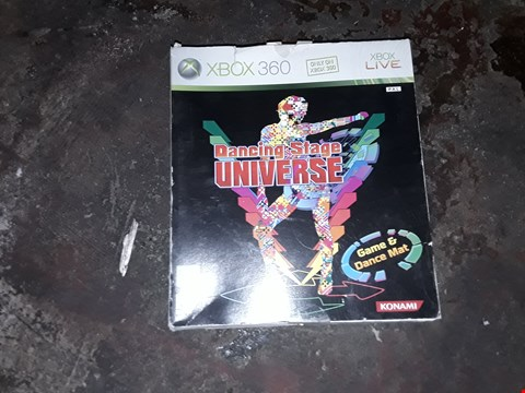 Lot 9116 DANCING STAGE UNIVERSE XBOX 360
