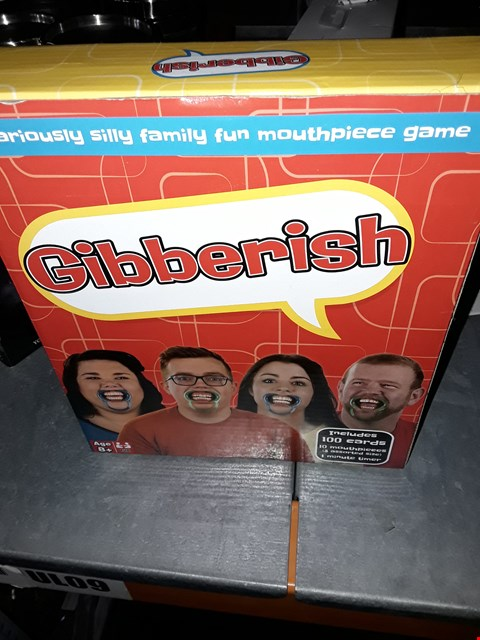 Lot 2120 GIBBERISH GAME