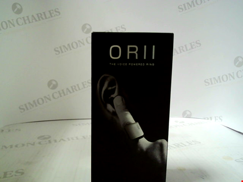 Lot 354 BRAND NEW ORII VOICE POWERED RING