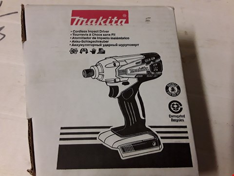Lot 10500 BOXED MAKITA 18V G SERIES CORDLESS IMPACT DRIVER RRP £99.99