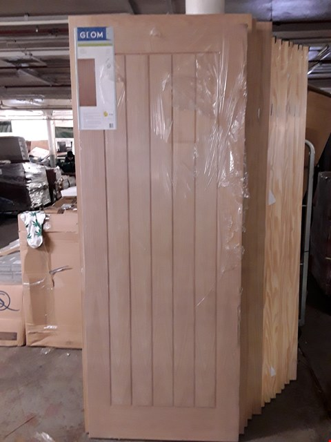 Lot 3167 OAK VANEER PANEL INTERNAL DOOR H1981 X W762 X D35 MM