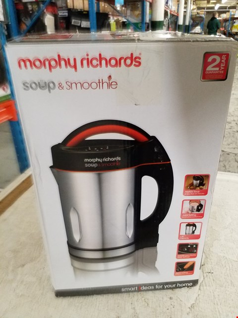 Lot 8392 MORPHY RICHARDS SOUP & SMOOTHIE MAKER