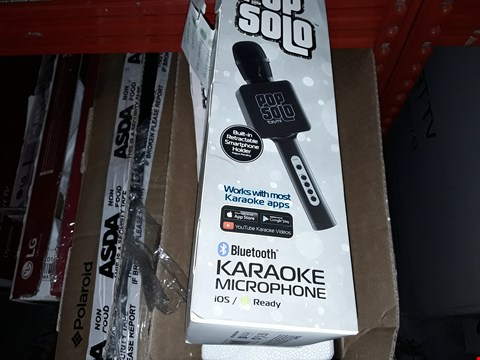 Lot 167 LOT OF 6X POP SOLO BLUETOOTH KARAOKE  MICROPHONES
