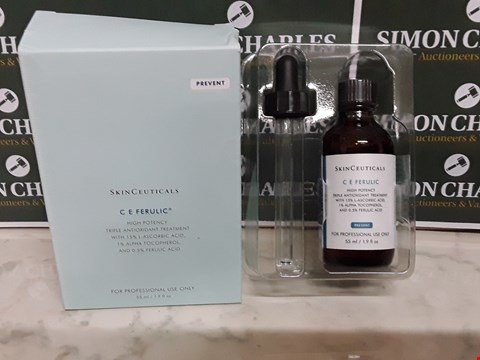 Lot 12088 SEALED SKINCEUTICALS STYLE 55ML C E FERULIC