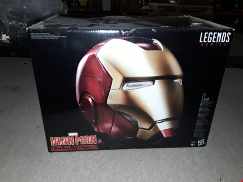 Lot 3001 IRON MAN ELECTRONIC HELMET